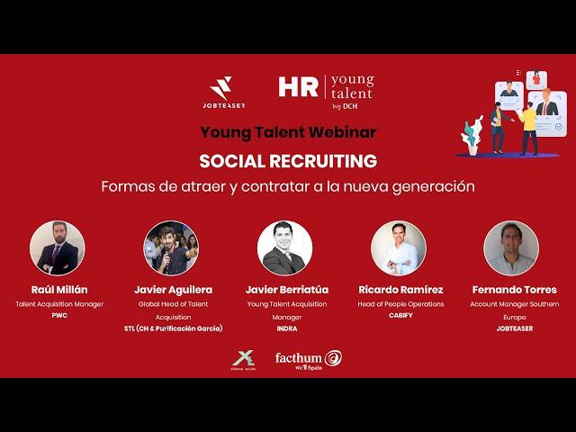 Social Recruiting: Formas de atraer y contratar a la nueva generación