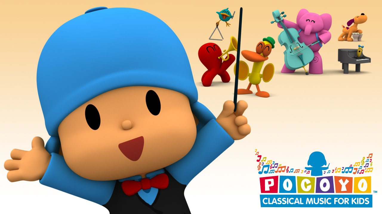 ♫NEW APP♫ Pocoyo: Classical Music for kids (Android, iOS, Amazon ...