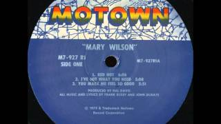 Mary Wilson .   I Love A Warm Summer Night . 1979 .