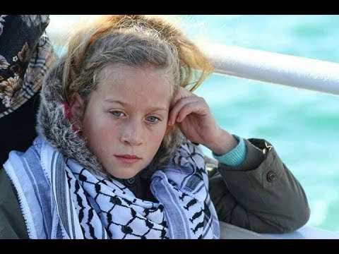 Free Ahed Tamimi: 16 year old Palestinian girl imprisoned by Apartheid Israel