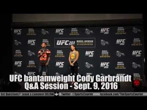UFC 203 Q&A with Cody Garbrandt
