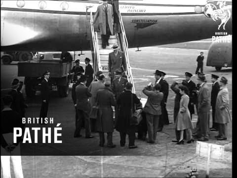 Arrival Of W. Averell Harriman (1948)