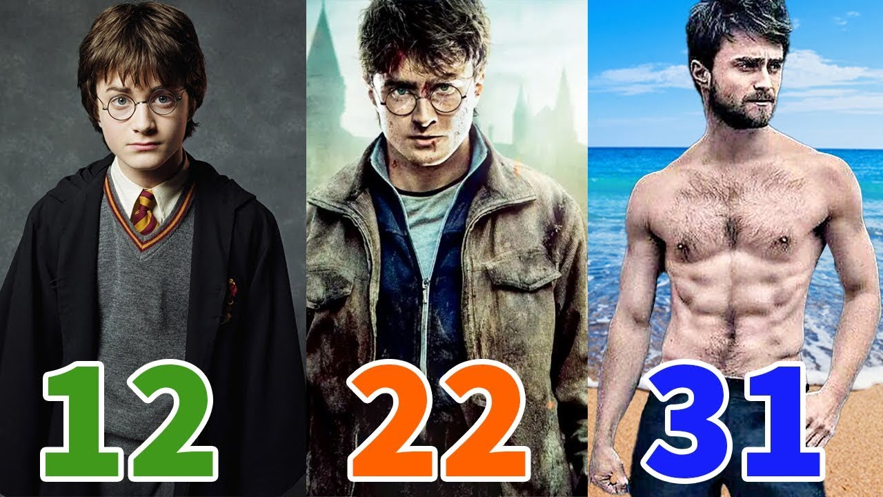 Daniel Radcliffe Transformation★2020 From 1 To 31 Years Old