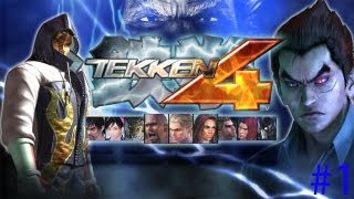 Tekken 4 Story Mode: Kazuya - PS2 Gameplay | Daxter296 Plays
