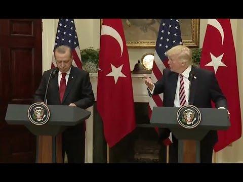 Trump And Turkish President Erdogan - Full News Conference