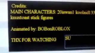 ROBLOX cumple con las figuras Stick (creador de ROFL MOVIE)