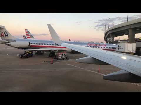 American Airlines Takeoff From Dallas/Fort Worth International Airport (DFW)