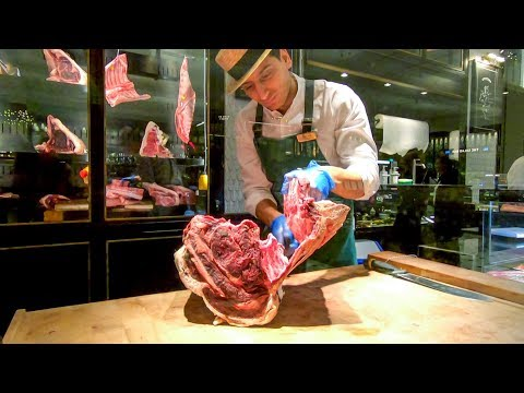 The Amazing Food Halls Of Harrods London. Butchers And Walkaround