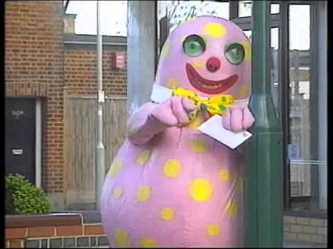 Mr Blobby Sees The Optician