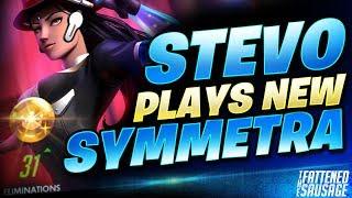 "Sym GOD ""Stevo"" DOMINATES w/ New Symmetra! MAKES HER LOOK BROKEN!"