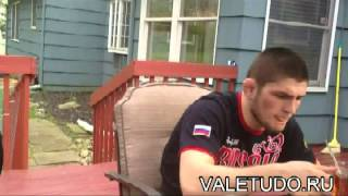 Russian fighters learning English with Sam Kardan Lesson 1