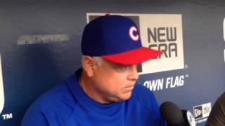 Renteria on San Diego return