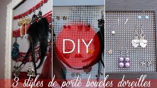DIY : 3 styles de porte boucles d'oreilles ! Thumbnail