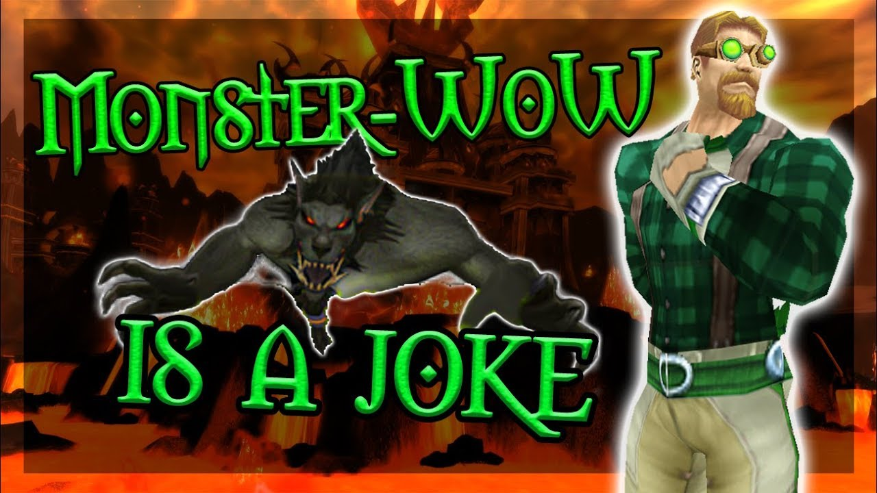 monster wow is a