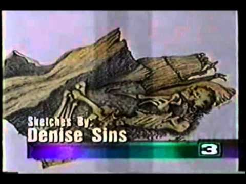 Ancient Caucasian Native American Mummy