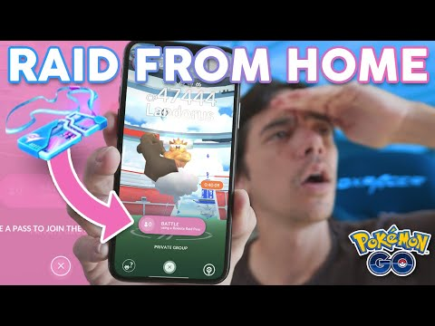 REMOTE RAID FROM HOME IS LIVE In Pokémon GO!
