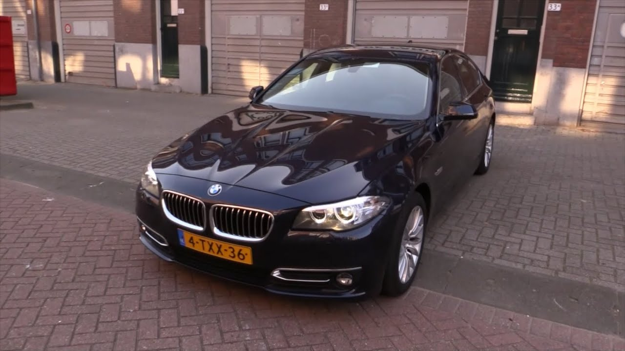 bmw 5 series 2015 start up drive in depth review interior exterior youtube. Black Bedroom Furniture Sets. Home Design Ideas