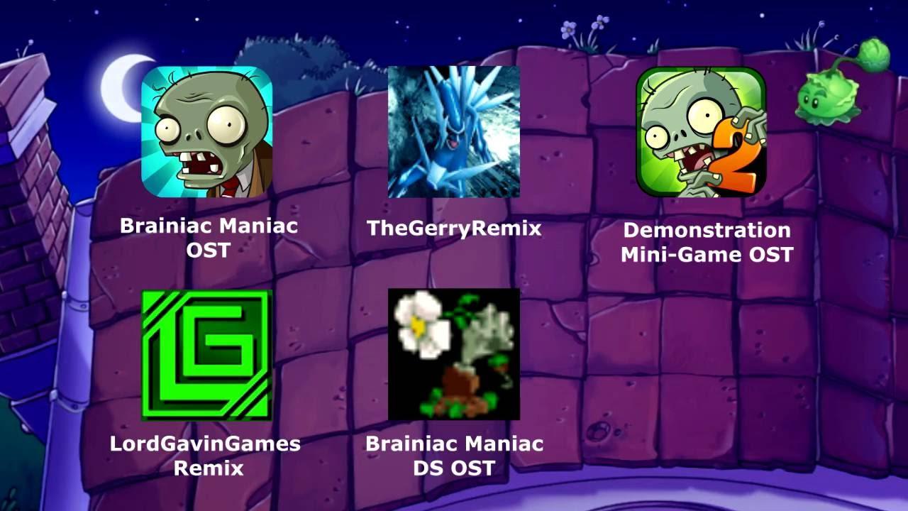 PvZ: Brainiac Maniac (Hextuple Mix)