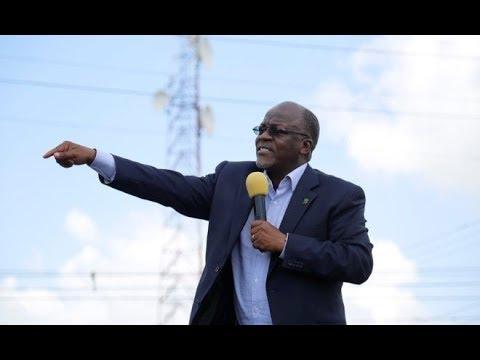 Tazama Rais Magufuli Alivyotua na Kupokelewa kwa Shangwe jijini Mwanza