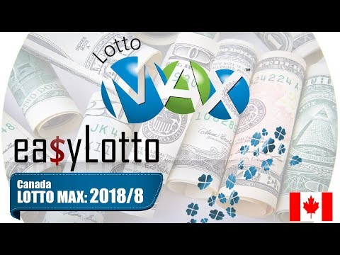 Lotto Max numbers 23 Feb 2018