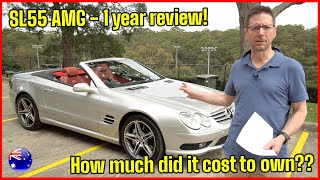 Mercedes-Benz SL55 AMG - One year review - How much did it cost to own? | MGUY Australia