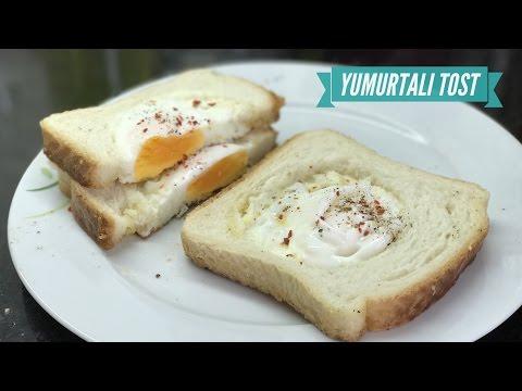 Tavada Yumurtalı Tost Nasıl Yapılır? - Naciye Kesici - Kahvaltılık Tarifler