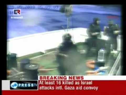 20 Killed, Israel Attacks Gaza Aid Fleet 3
