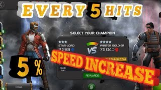 3 STAR STARLORD WINTER SOLDIER SOLO MARVEL CONTEST OF CHAMPIONS