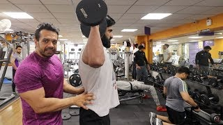 Do Not Copy Others in the Gym -  Shoulders Hutiyapa | FitMuscle TV