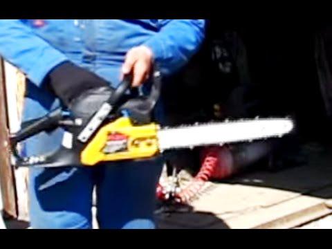 видео: Как заводить бензопилу - пару самых популярных способов