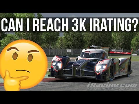 iRacing - Can I Reach 3K iRating? | iLMS @ IMOLA