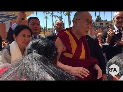 His Holiness the Dalai Lama arrived in San Diego amid warm welcome - June 15, 2017