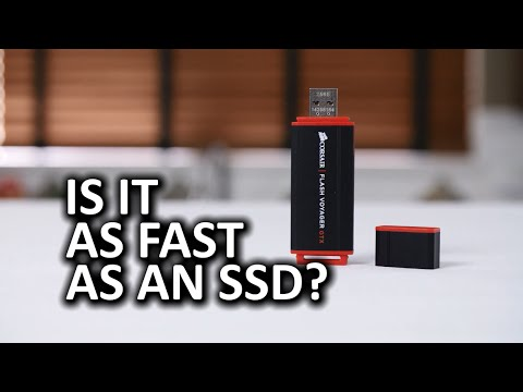 Corsair Flash Voyager GTX Near SSD Performance in your Pocket?