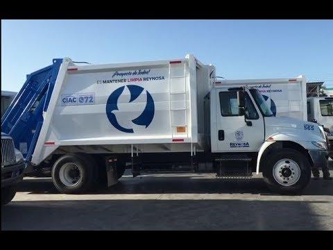 Llegan los nuevos Camiones recolectores de basura