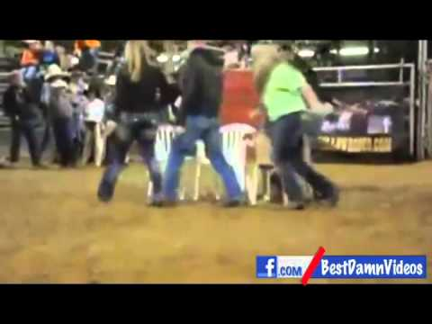 Woman SNAPS over a game of musical chairs... TOO FUNNY!!