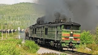 """BAM-2007"" Part 6. Railway travel (RZD, Pivan"