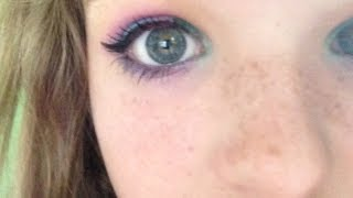 rainbow makeup!!