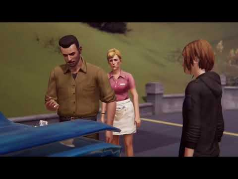 [Life is Strange: Before the Storm] David finds Chloe's mary-wanna