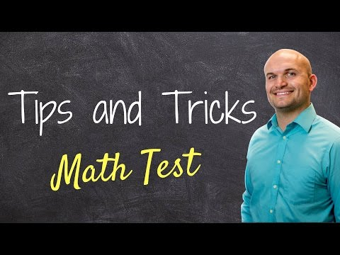 Видео Multiple choice math test