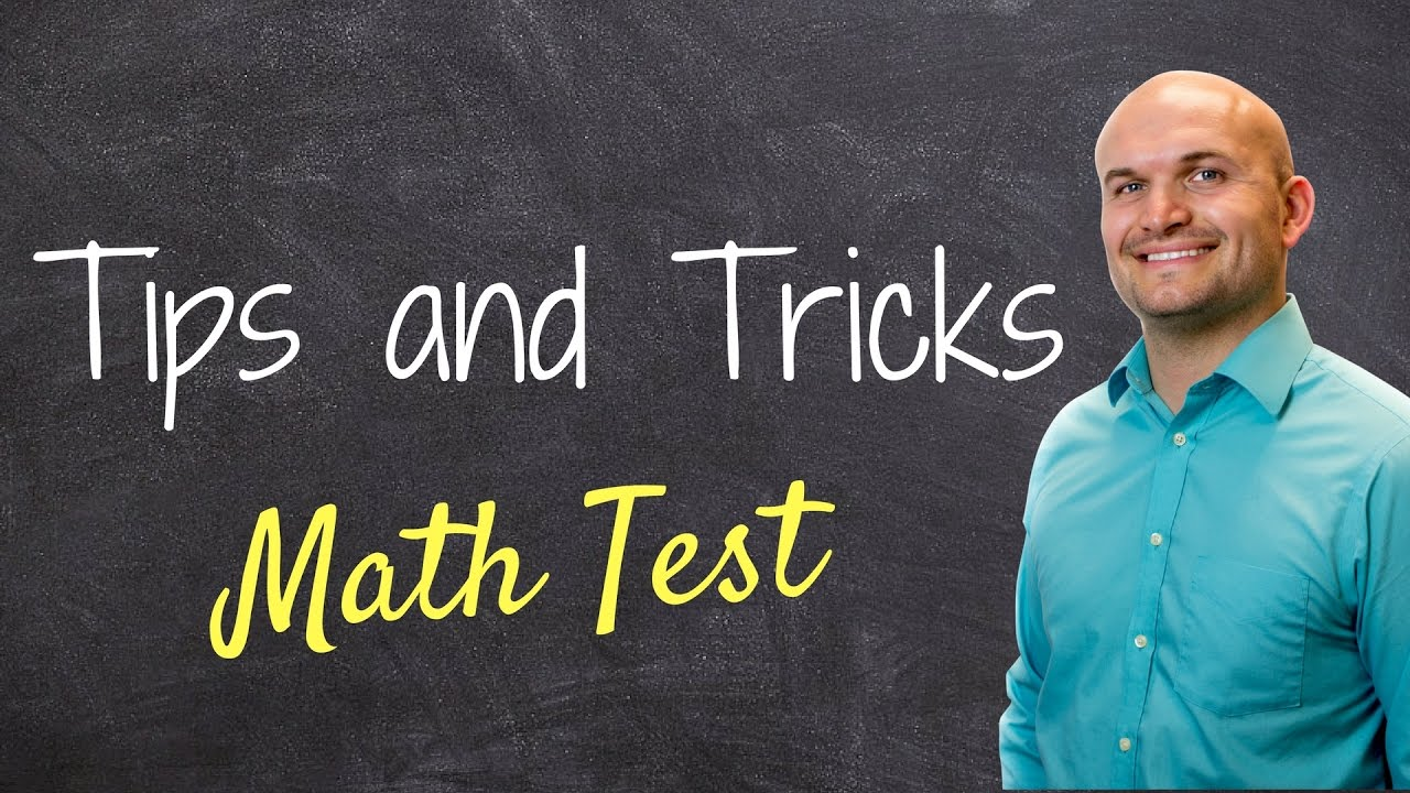 Tips to taking any math multiple choice test or exam