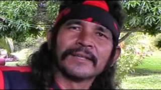Arawak indian chief Daniel Gomez