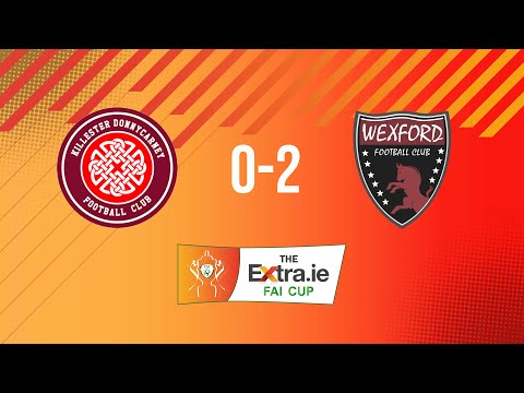 Extra.ie FAI Cup Second Round: Killester Donnycarney 0-2 Wexford