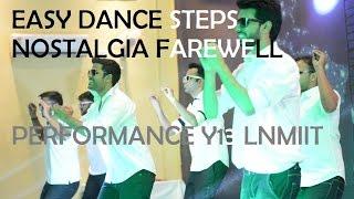 lnmiit nostalgia 2017 boys dance performance y13 farewell