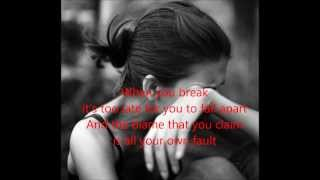 When you break - Bear's den (Lyrics)