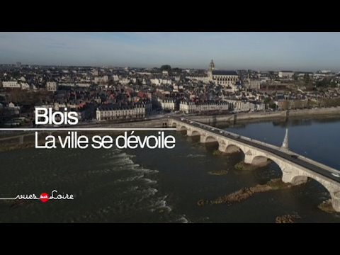 vues sur loire blois la ville se d voile youtube. Black Bedroom Furniture Sets. Home Design Ideas