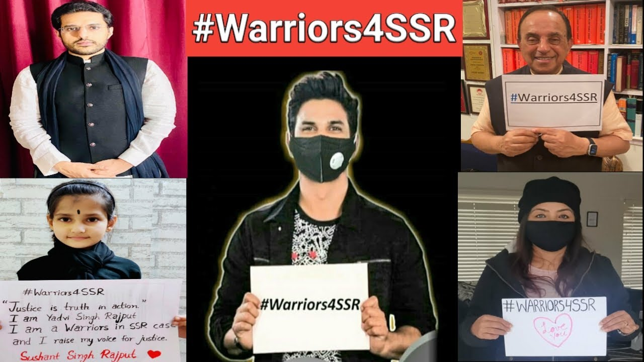 #Warriors4SSR Thank you for second Digital Protest for Sushant Singh Rajput #JusticeForSushant