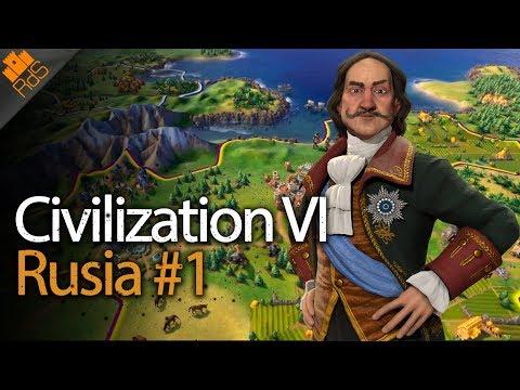 Civilization VI: Rise And Fall - Gameplay En Español - Rusia #1