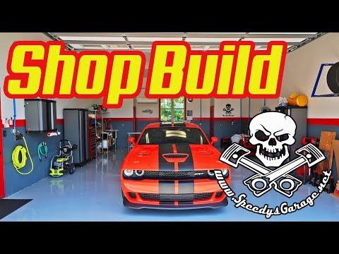 Speedy's Garage Shop Build