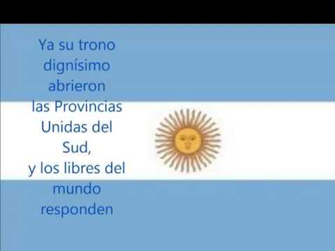 Himno Nacional Argentina Letra High