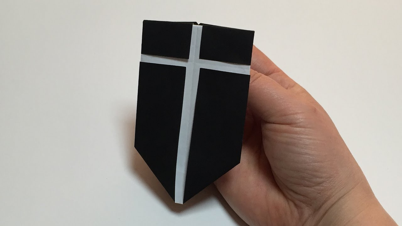 Origami Shield Sword Diagrams And Of The Woona